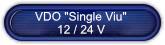 VDO Instrumente single Viu 12/24V